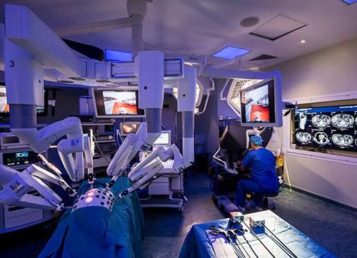 Prostatectomia robotica, Chirurgie robotica